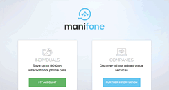 Preview of manifone.mobi